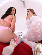 Nikki is a bomb massive arse baby give a biggest fucking arse for a white girl. Yon festoon give Rachel Starr in arse shaking is a feet on its own.