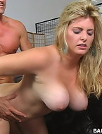 this big titty babe loves to suck cock