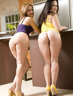Alex Casio and Nikki Skye are completely out of this world with there huge asses and rock solid bodies